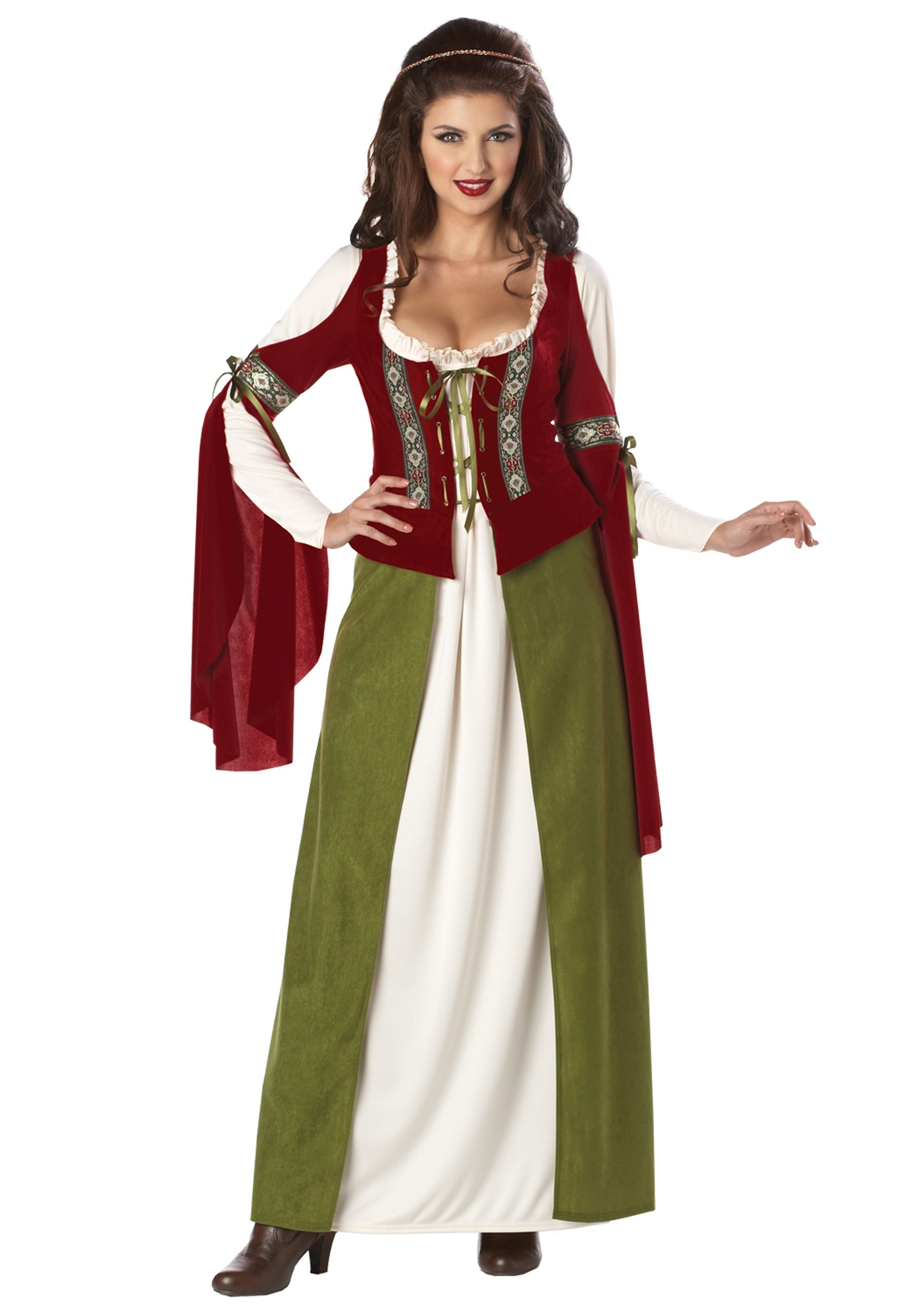Maid Marian Costume  sc 1 st  Halloween Costumes : robin halloween costume women  - Germanpascual.Com