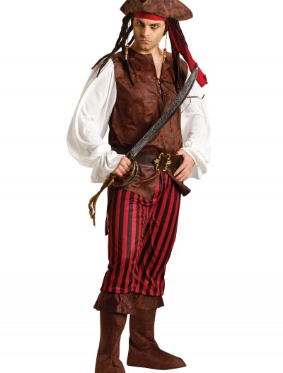 Male Caribbean Pirate Costume, halloween costume (Male Caribbean Pirate Costume)