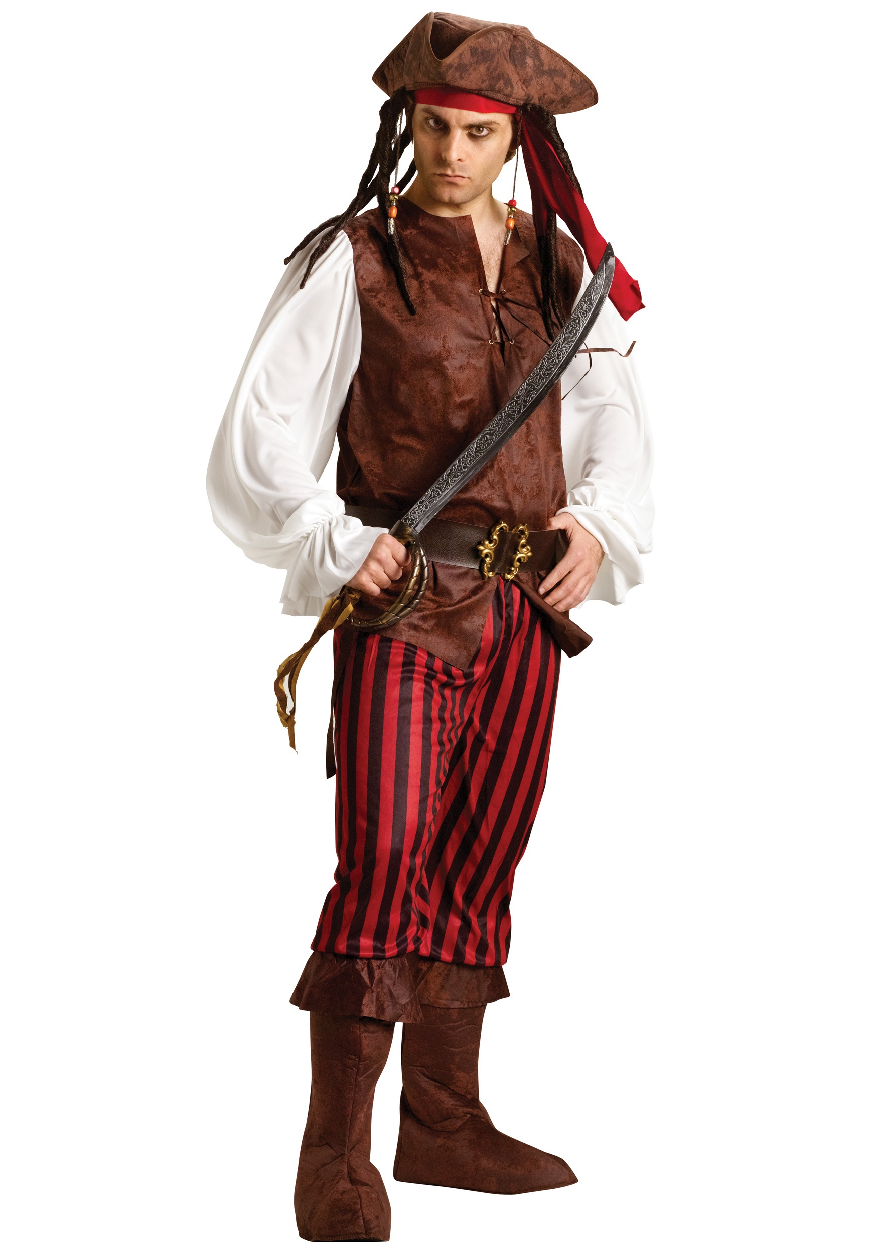 Male Caribbean Pirate Costume  sc 1 st  Halloween Costumes & Male Caribbean Pirate Costume - Halloween Costumes