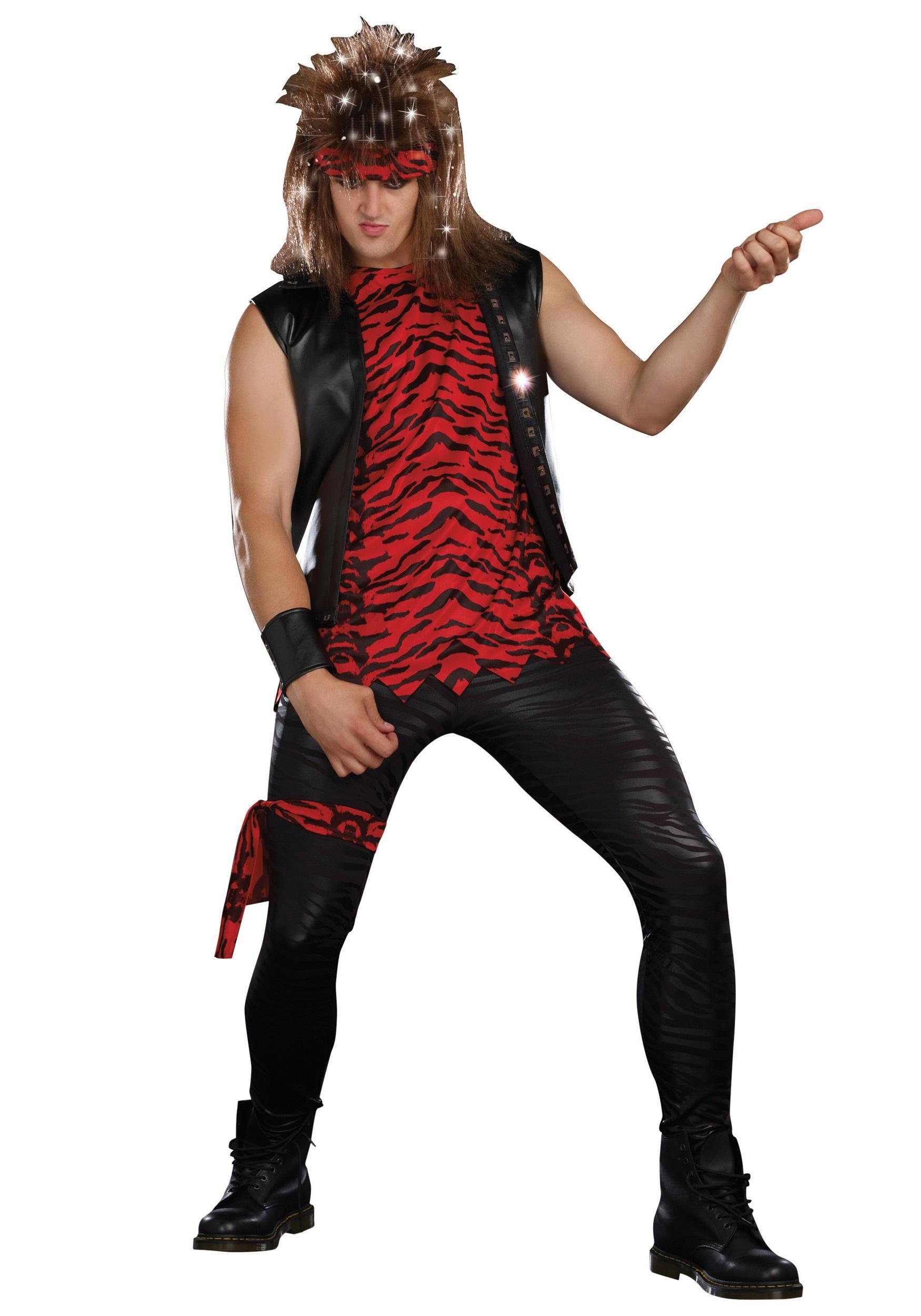 Male Rockstar Costume - Halloween Costumes