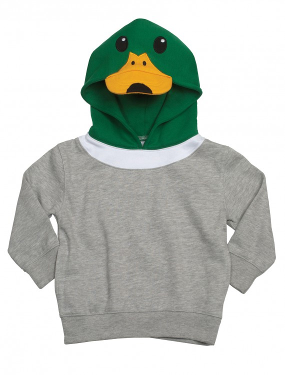 Mallard Duck Face Animal Hoodie, halloween costume (Mallard Duck Face Animal Hoodie)