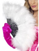 Marabou Flapper Fan, halloween costume (Marabou Flapper Fan)