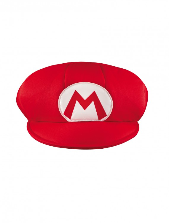 Mario Adult Hat, halloween costume (Mario Adult Hat)