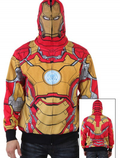 Mark 42-M Marvel Iron Man 3 Costume Hoodie, halloween costume (Mark 42-M Marvel Iron Man 3 Costume Hoodie)