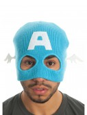 Marvel Captain America Half Mask Knit Beanie, halloween costume (Marvel Captain America Half Mask Knit Beanie)
