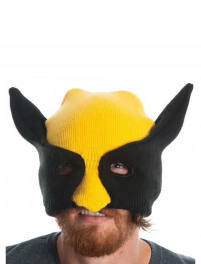 Marvel Wolverine Half Mask Knit Beanie, halloween costume (Marvel Wolverine Half Mask Knit Beanie)