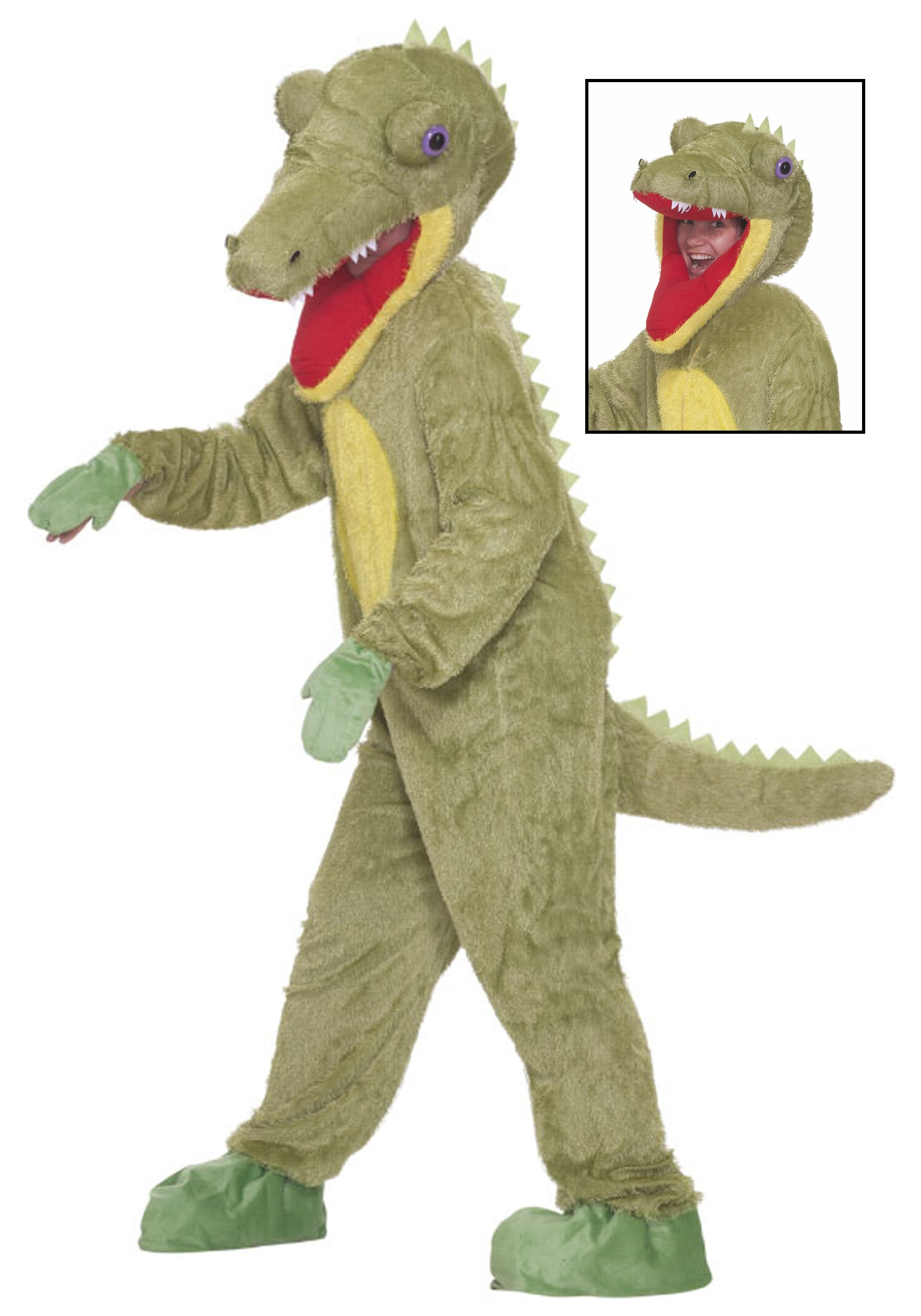 Mascot Crocodile Costume  sc 1 st  Halloween Costumes : shark halloween costume adult  - Germanpascual.Com