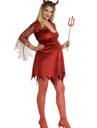 Maternity Devil Lady Costume, halloween costume (Maternity Devil Lady Costume)