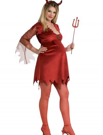 Maternity Devil Lady Costume, halloween costume (Maternity Devil Lady Costume)