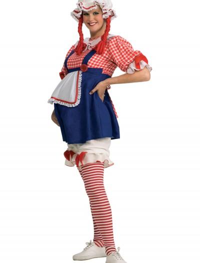 Maternity Rag Doll Costume, halloween costume (Maternity Rag Doll Costume)