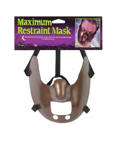 Maximum Restraint Mask, halloween costume (Maximum Restraint Mask)