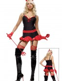Miss Sexy Devil Costume, halloween costume (Miss Sexy Devil Costume)