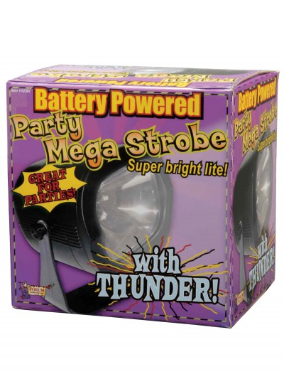 Mega Strobe with Thunder, halloween costume (Mega Strobe with Thunder)