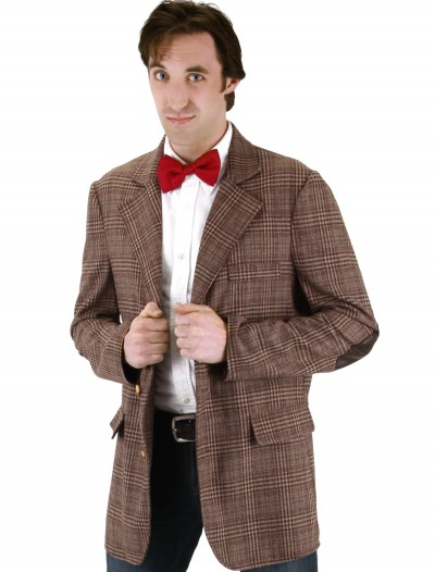 Doctor Who Mens 11th Doctor Jacket, halloween costume (Doctor Who Mens 11th Doctor Jacket)