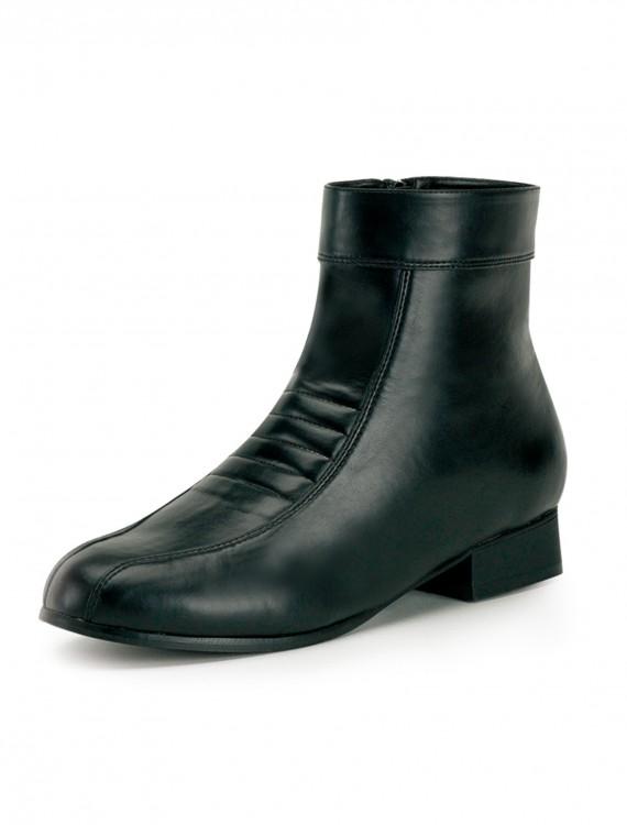 Men's 1960's Black Shoes, halloween costume (Men's 1960's Black Shoes)