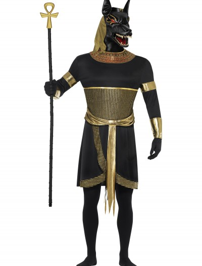 Men's Anubis the Jackal Costume, halloween costume (Men's Anubis the Jackal Costume)