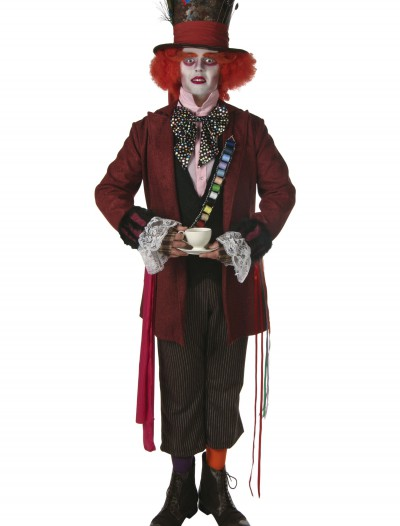 Men's Authentic Mad Hatter Costume, halloween costume (Men's Authentic Mad Hatter Costume)