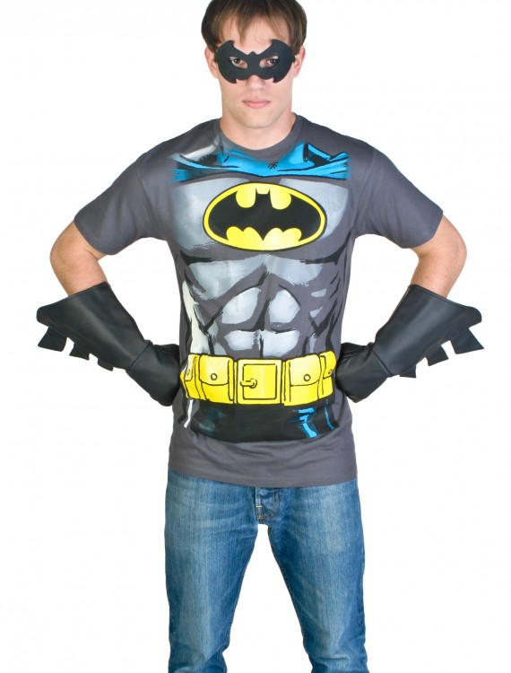 Men's Batman Costume T-Shirt, halloween costume (Men's Batman Costume T-Shirt)