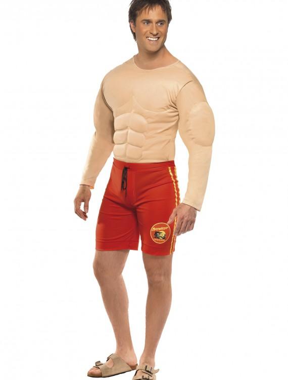 Mens Baywatch Lifeguard Costume, halloween costume (Mens Baywatch Lifeguard Costume)