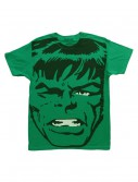 Mens Big Head Incredible Hulk TShirt, halloween costume (Mens Big Head Incredible Hulk TShirt)