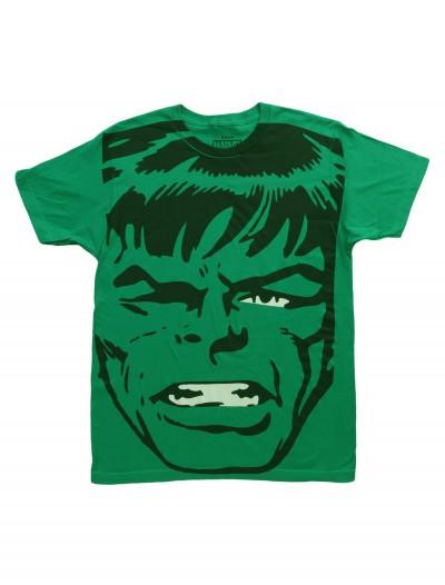 Mens Big Head Incredible Hulk TShirt, halloween costume (Mens Big Head Incredible Hulk TShirt)