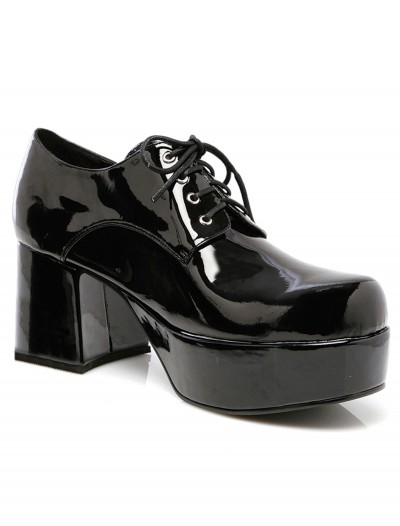 Mens Black Pimp Shoes, halloween costume (Mens Black Pimp Shoes)