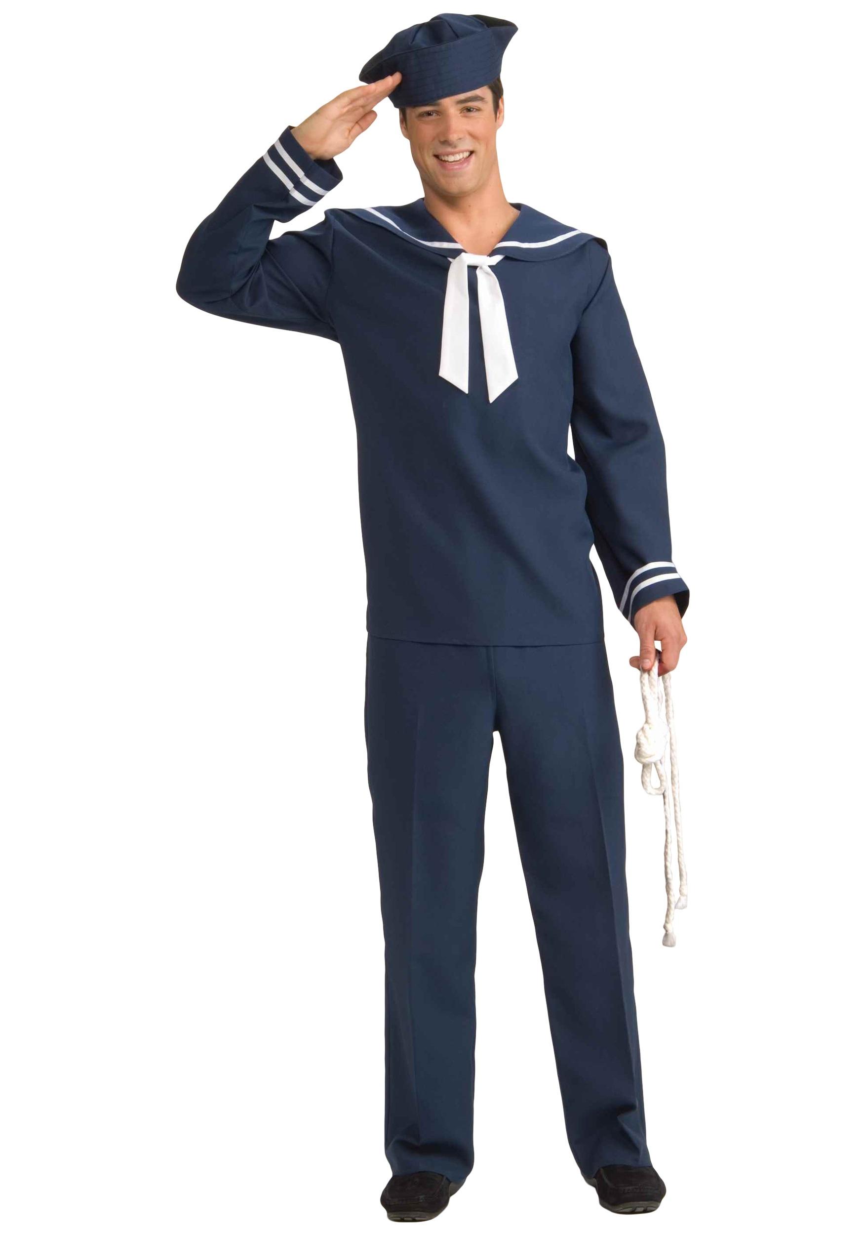 Menu0027s Blue Sailor Costume  sc 1 st  Halloween Costumes & Menu0027s Blue Sailor Costume - Halloween Costumes