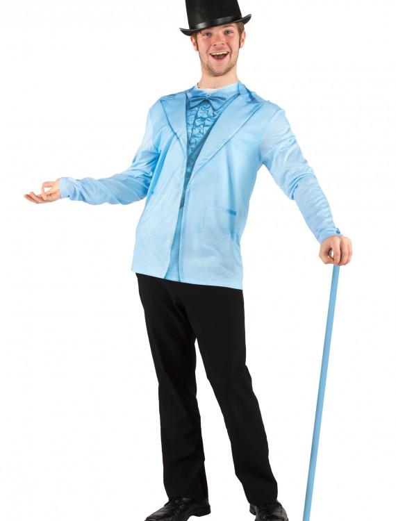 Men's Blue Tuxedo Costume T-Shirt, halloween costume (Men's Blue Tuxedo Costume T-Shirt)