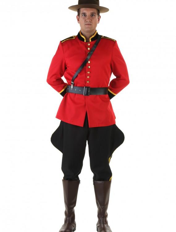 Men's Canadian Mountie Costume, halloween costume (Men's Canadian Mountie Costume)