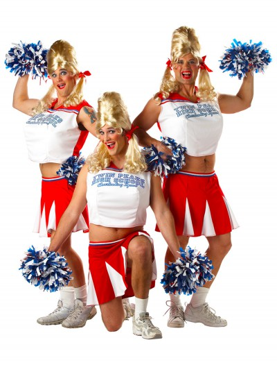 Mens Cheerleader Costume, halloween costume (Mens Cheerleader Costume)