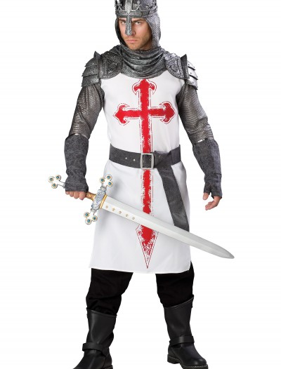 Men's Crusader Knight Costume, halloween costume (Men's Crusader Knight Costume)