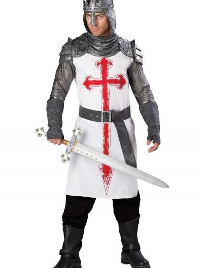 Men's Crusader Knight Costume, halloween costume (Men's Crusader Knight Costume)