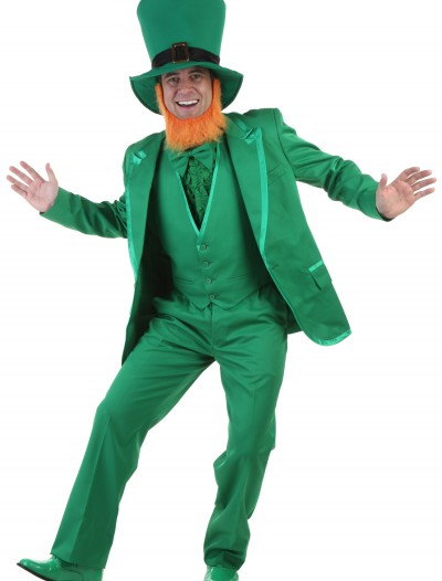 Mens Deluxe Leprechaun Costume, halloween costume (Mens Deluxe Leprechaun Costume)