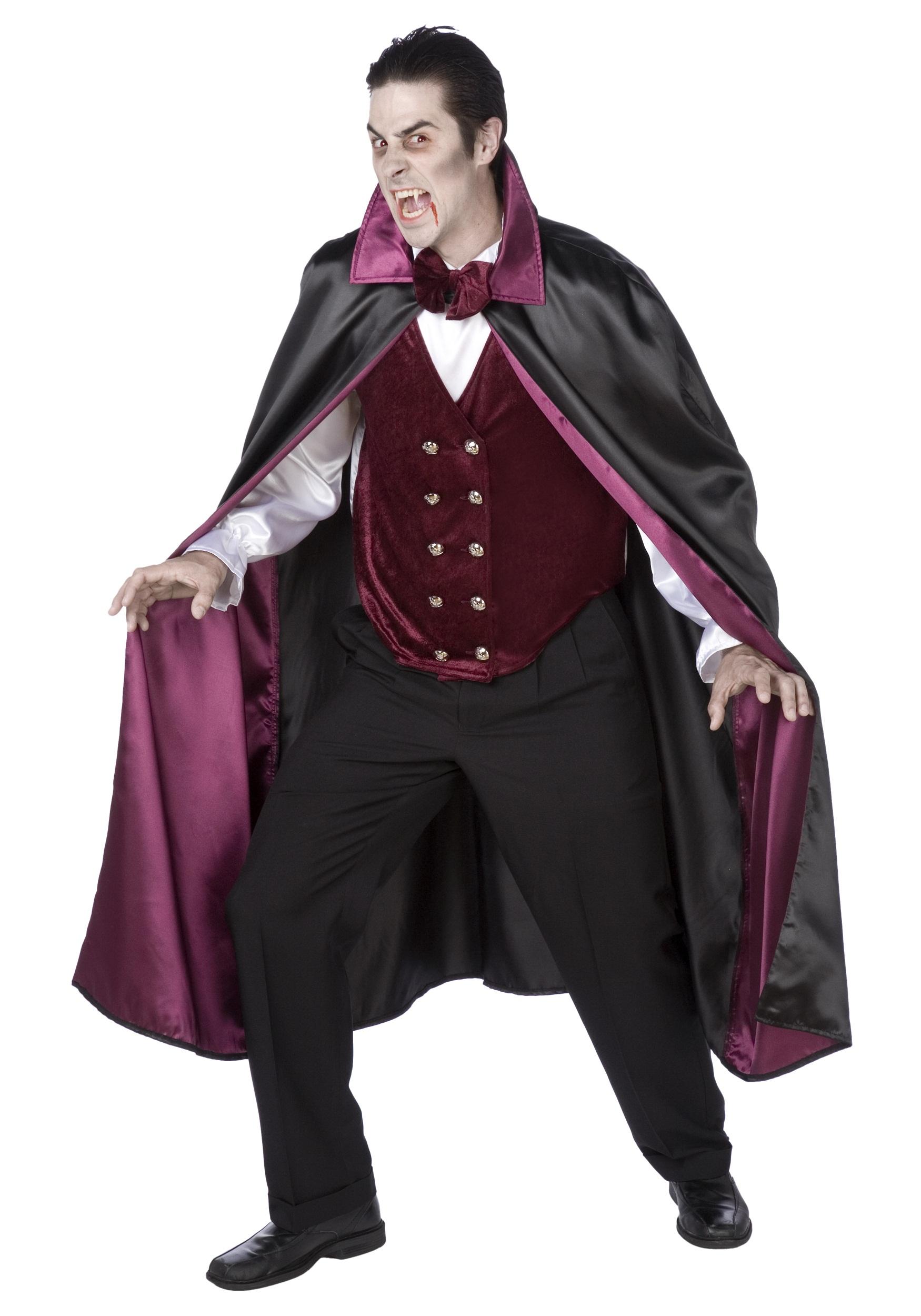 Mens Deluxe V&ire Costume  sc 1 st  Halloween Costumes & Mens Deluxe Vampire Costume - Halloween Costumes