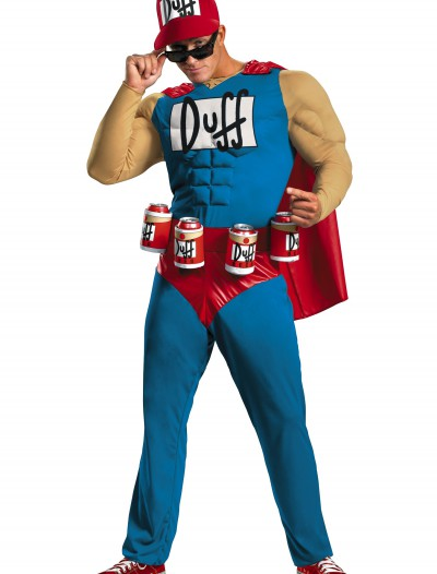 Men's Duffman Costume, halloween costume (Men's Duffman Costume)