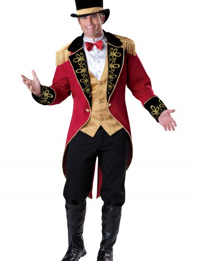 Mens Elite Ringmaster Costume, halloween costume (Mens Elite Ringmaster Costume)