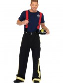 Mens Fire Captain Costume, halloween costume (Mens Fire Captain Costume)