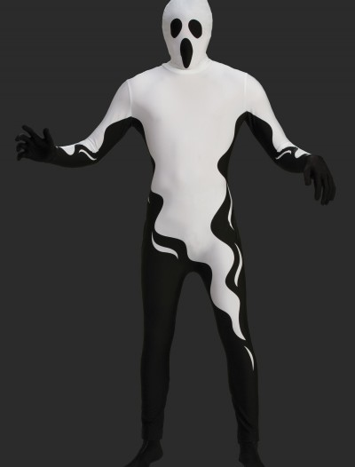Mens Floating Ghost Skin Suit, halloween costume (Mens Floating Ghost Skin Suit)