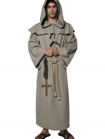 Mens Friar Tuck Costume, halloween costume (Mens Friar Tuck Costume)