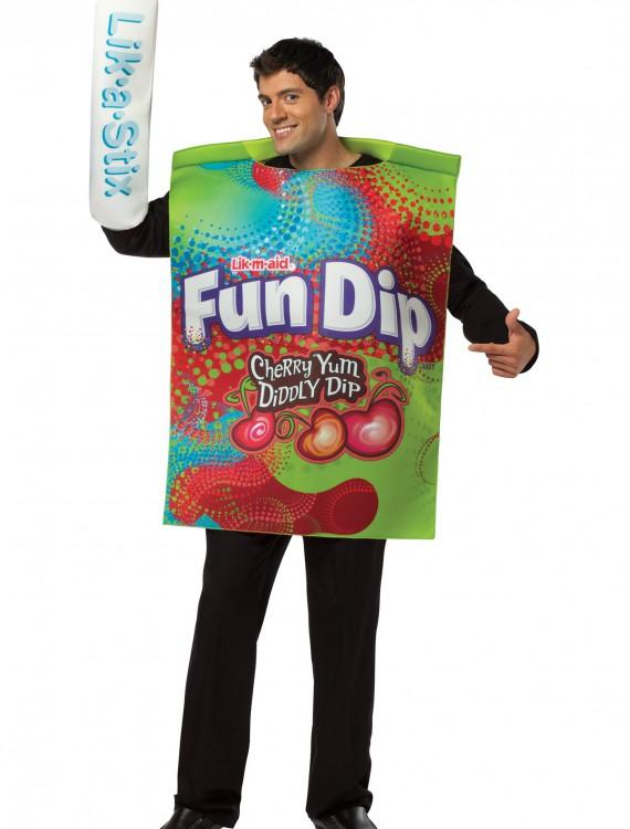Mens Fun Dip Costume, halloween costume (Mens Fun Dip Costume)