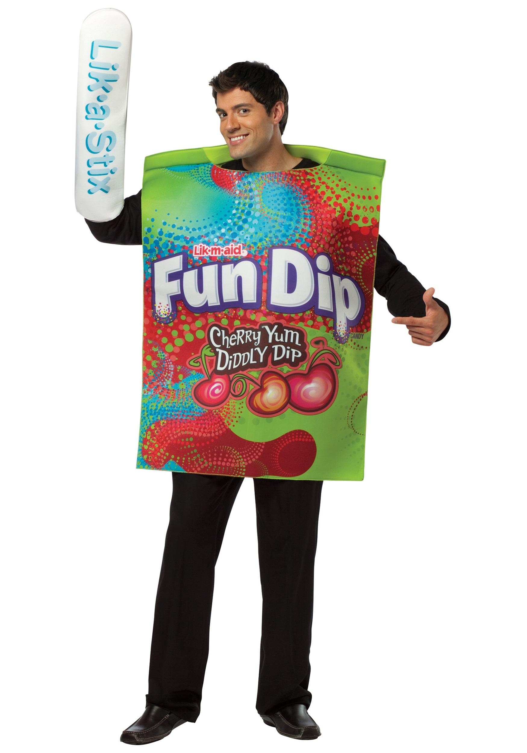 mens fun dip costume - halloween costumes