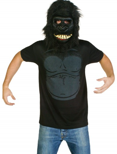 Mens Gorilla Costume T-Shirt, halloween costume (Mens Gorilla Costume T-Shirt)
