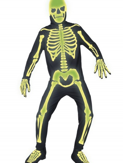 Mens Gothic Manor Graveyard Bones Costume, halloween costume (Mens Gothic Manor Graveyard Bones Costume)