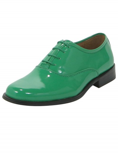 Mens Green Shoes, halloween costume (Mens Green Shoes)