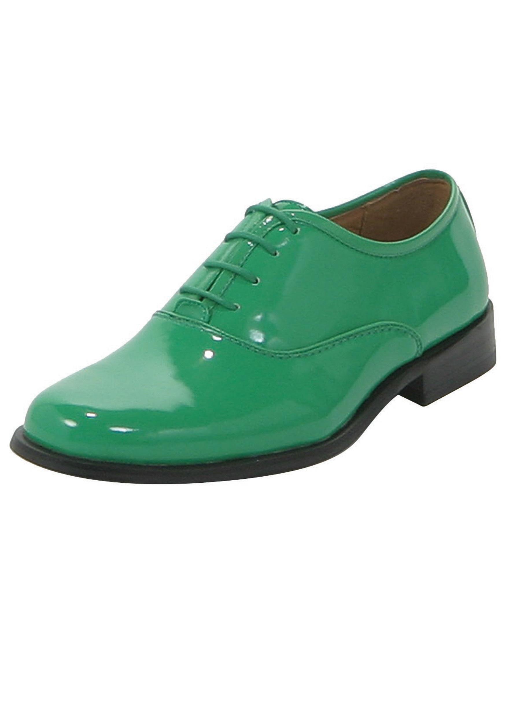 mens green shoes