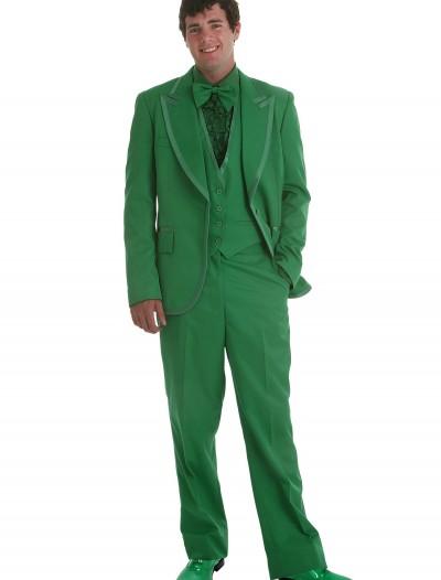 Men's Green Tuxedo, halloween costume (Men's Green Tuxedo)
