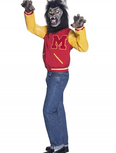 Mens High School Werewolf Costume, halloween costume (Mens High School Werewolf Costume)