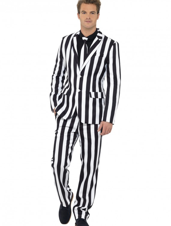 Men's Humbug Striped Suit, halloween costume (Men's Humbug Striped Suit)