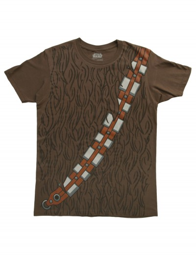 Mens I Am Chewbacca Costume T-Shirt, halloween costume (Mens I Am Chewbacca Costume T-Shirt)