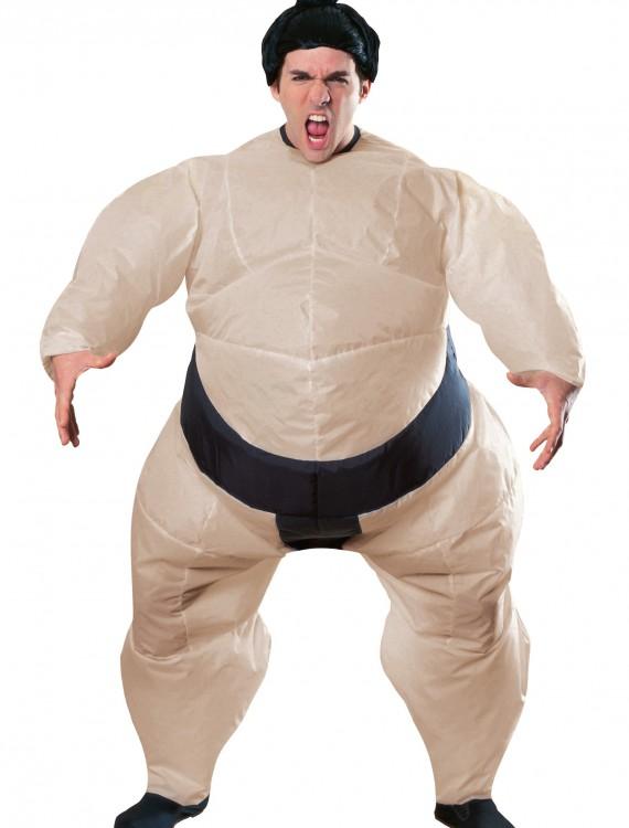Mens Inflatable Sumo Costume, halloween costume (Mens Inflatable Sumo Costume)